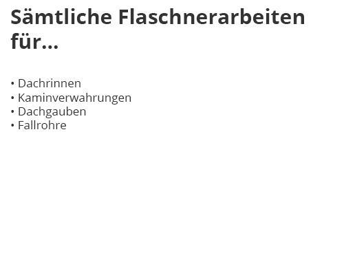 Flaschnerei in  Adelmannsfelden