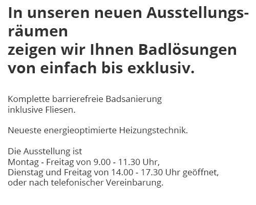 barrierefreie Badsanierung in  Ahorn